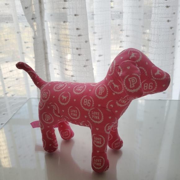 Pink Victoria secret mini dog